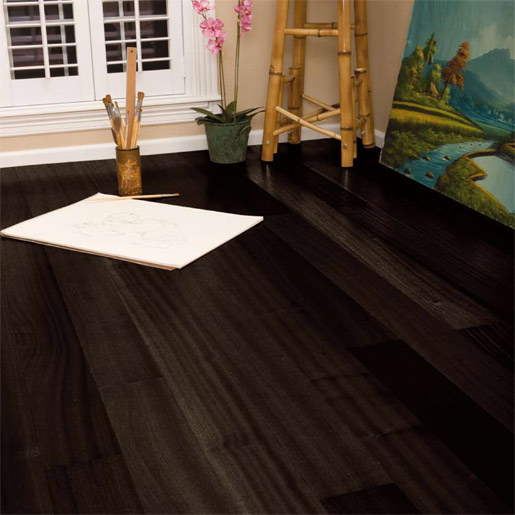 Charming Ebony Flooring
